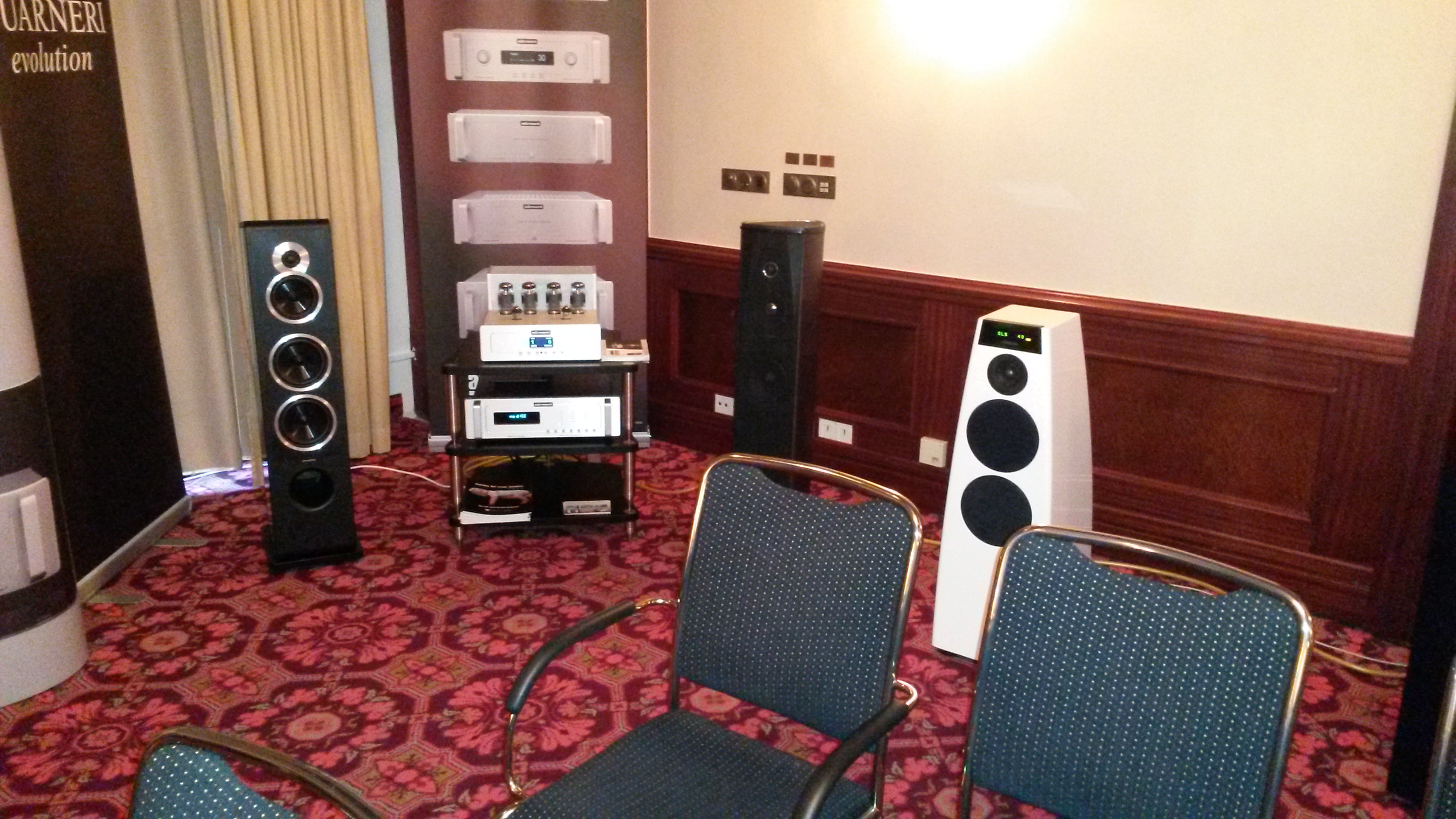 Westdeutsche HiFi-Tage 2015, audio-area, Audio Reference, Sonus faber, Meridian, Audio Research, Bassocontinuo