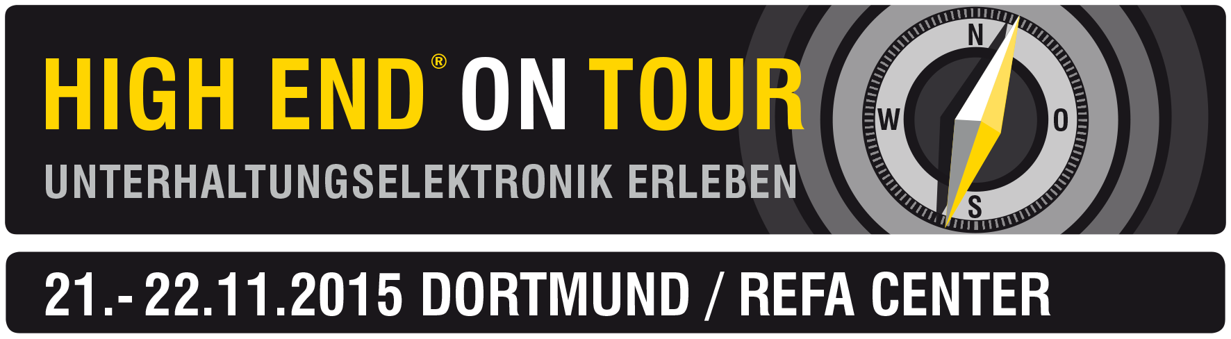 HIGH END on Tour 2015, Dortmund