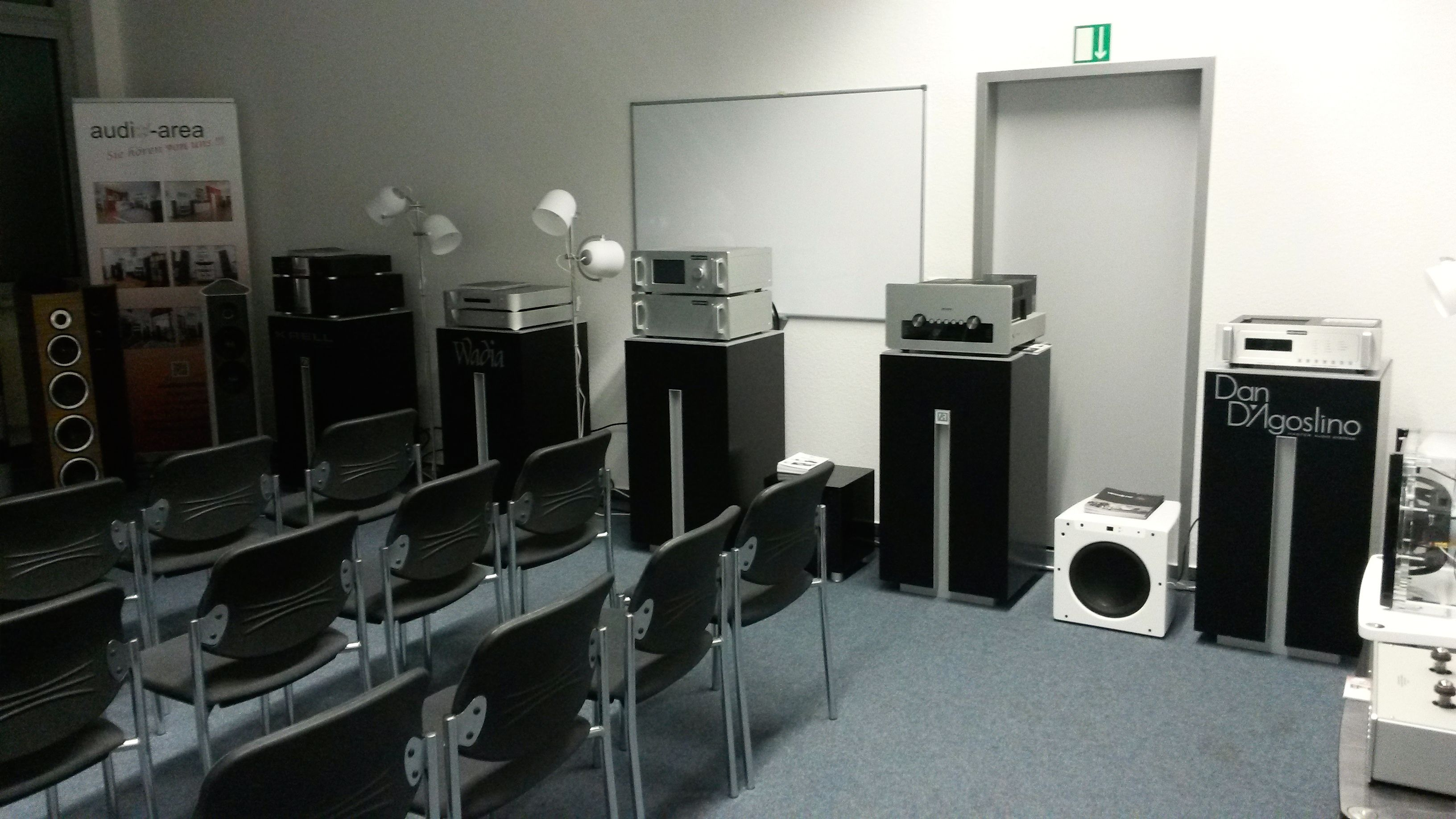 HIGH END on Tour 2015 Dortmund, audio-area