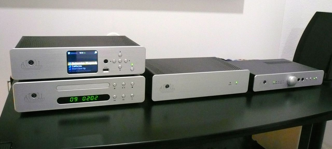 ATOLL Mini Line Serie MS 100, MD 100, MA 100, HD 120